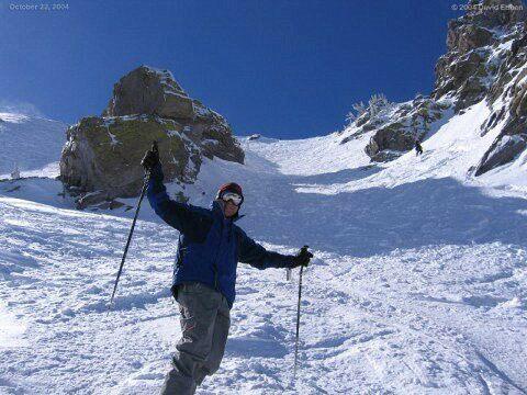 October Skiing in the Noids - 10/22/04 - Snowman Photo Ebben