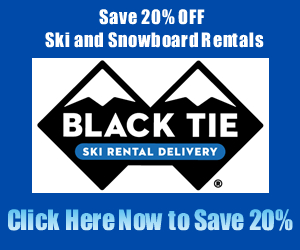 Black Tie Ski Rentals in Mammoth Lakes