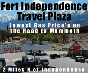 Cheapest Gas on the 395 at the Fort