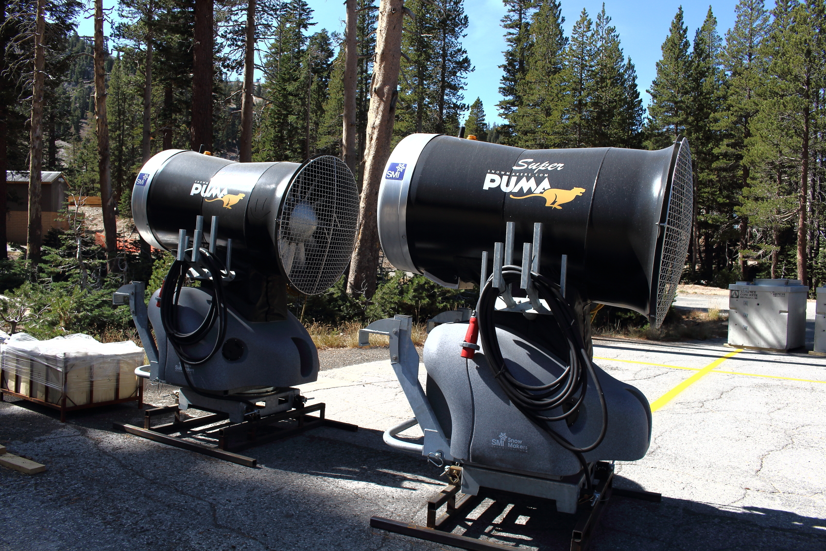 New Snow making Machine - Mammoth Mountain Snowmaking System