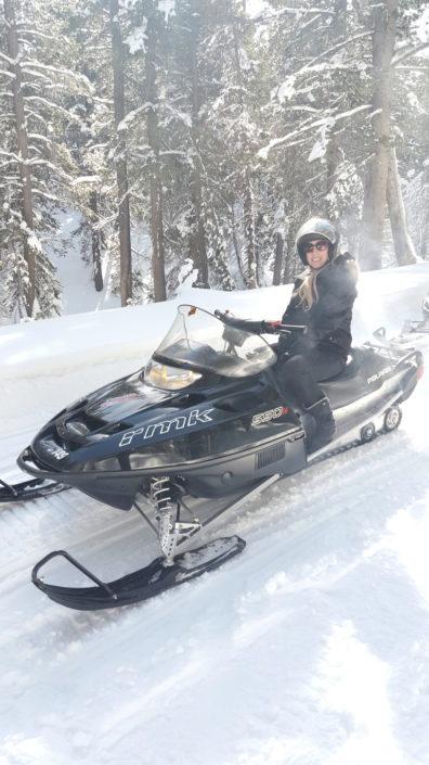 Mammoth Snowmobiling Adventures