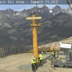 The New Sign is up at the Top of Mammoth Mountain