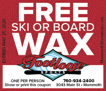 Free Hot Wax at Footloose Sports