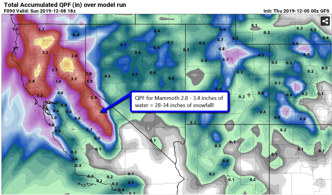 NWS Reno Weather Warning