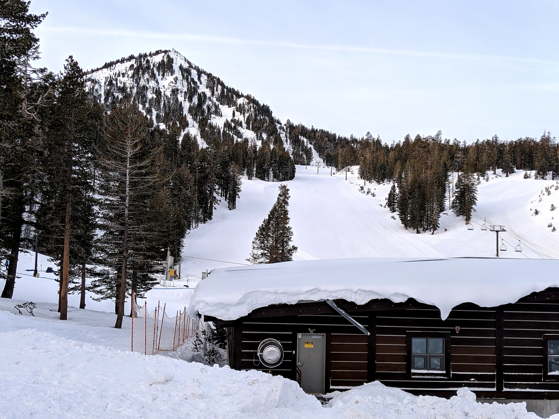 Canyon Lodge Area and Lincoln Mountain