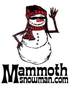 Mammoth Snowman Logo