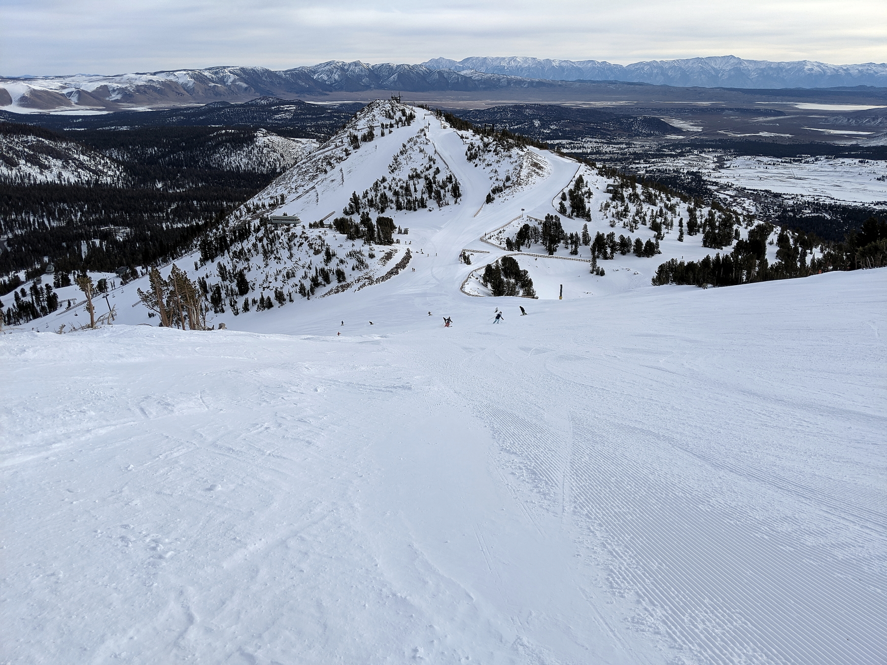 1-5-2020 Mammoth Mountain Snow Report from the Snowman