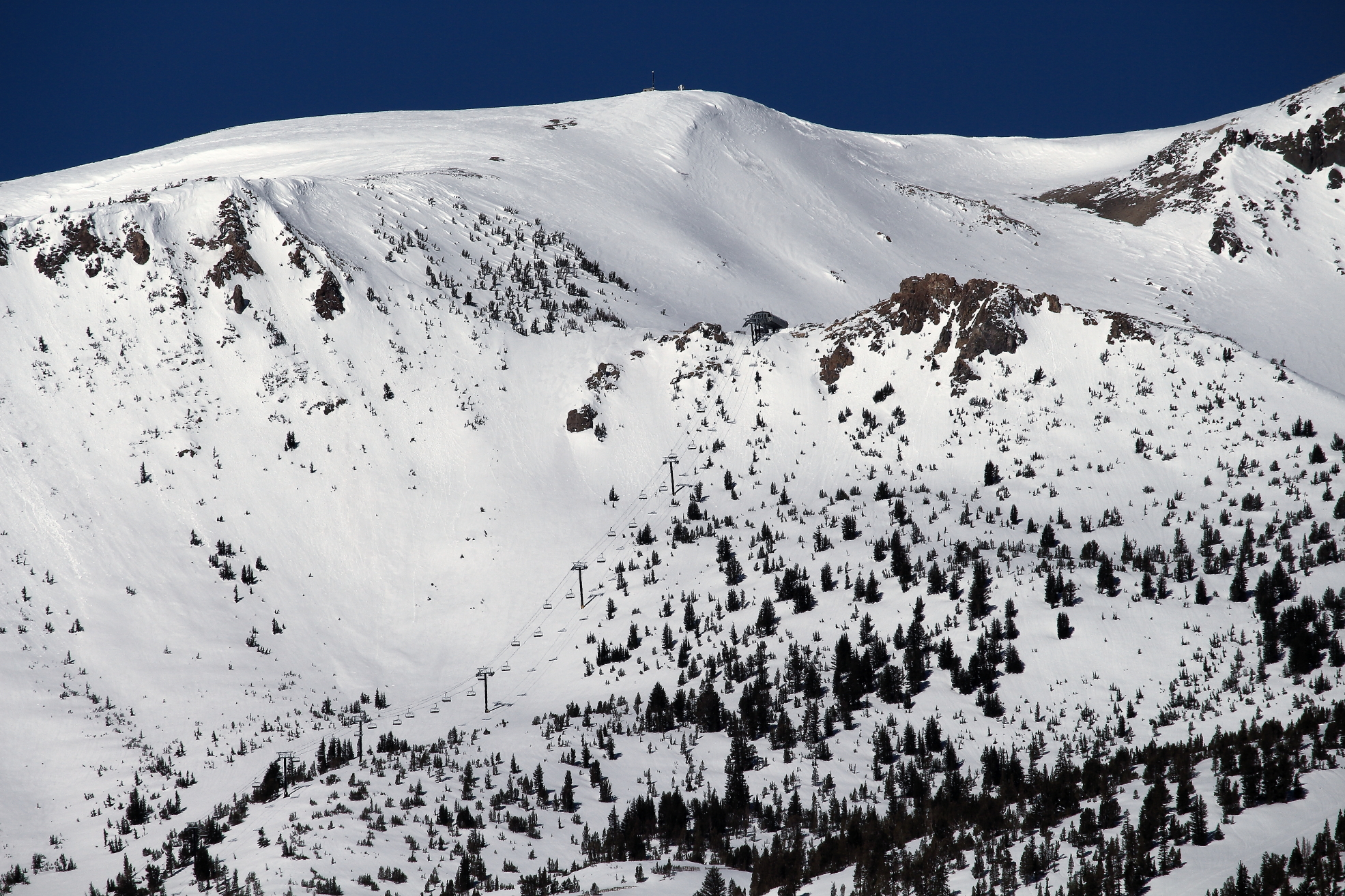 Chair 9 and Daves Run
