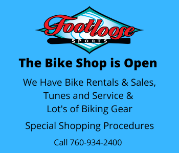 Footloose Bike Shop - 760-934-2400