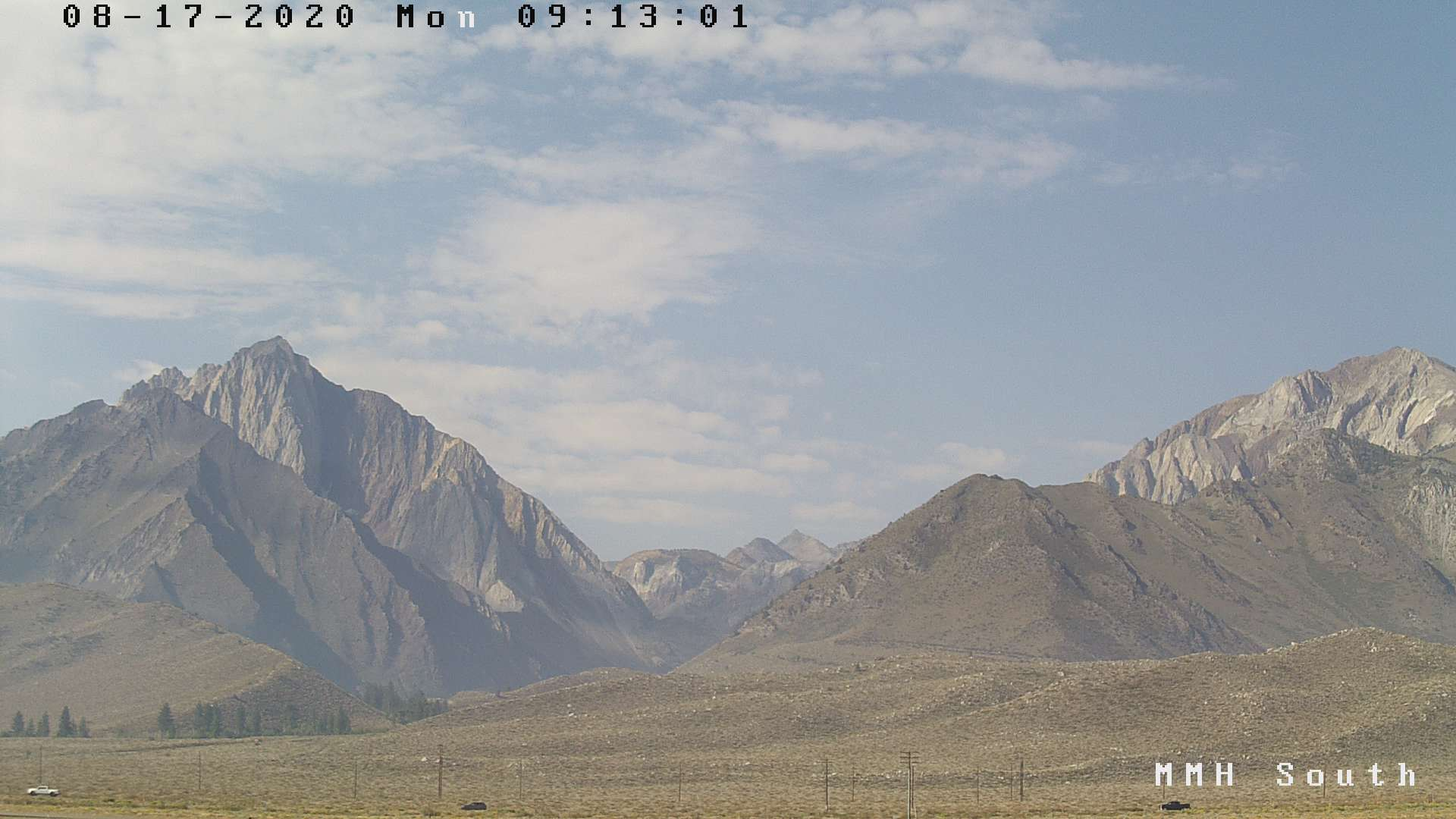 Good Morning Weather and Conditions from Bishop to Mammoth Lakes