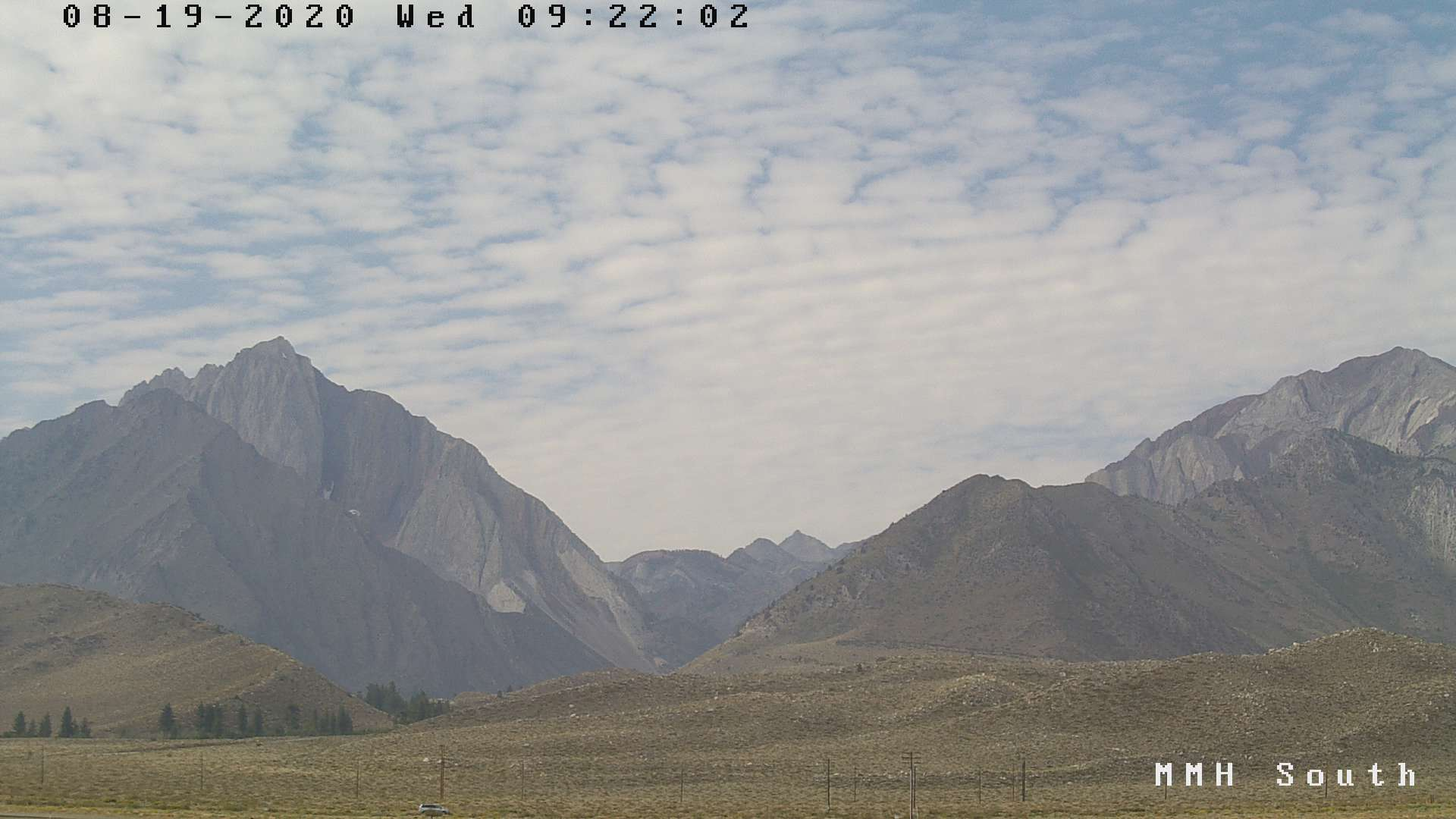 AM Weather & Conditions from Mammoth Lakes and Bishop, Ca.