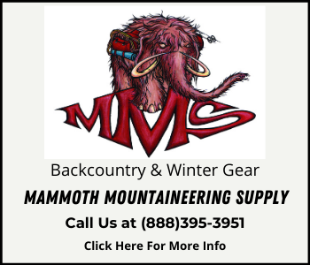 Mammoth Mountaineering Supply - 888-395-3951
