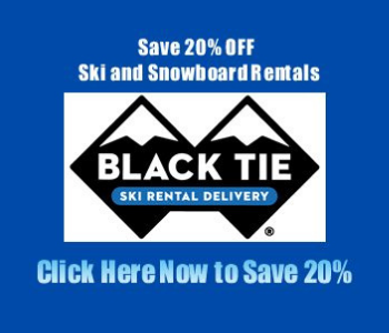 Black Tie Ski Rentals in Mammoth Lakes