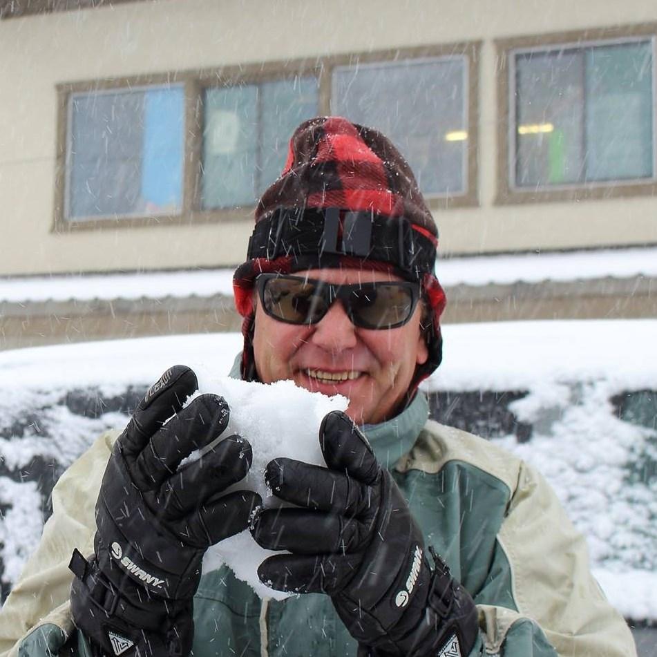 Snowman at Main Lodge