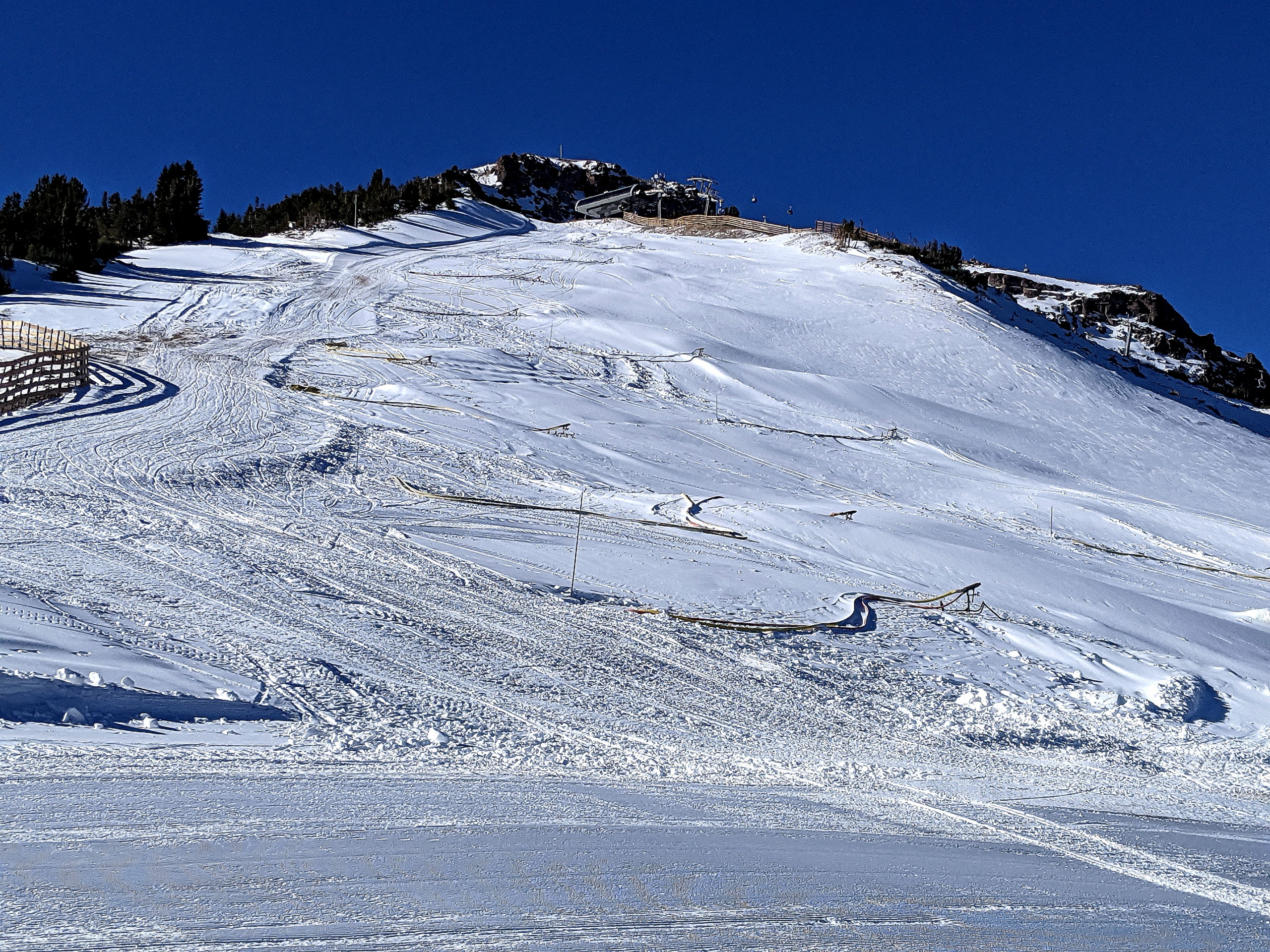 Upper Solitude and the Top of Chair 5 - 11-2020