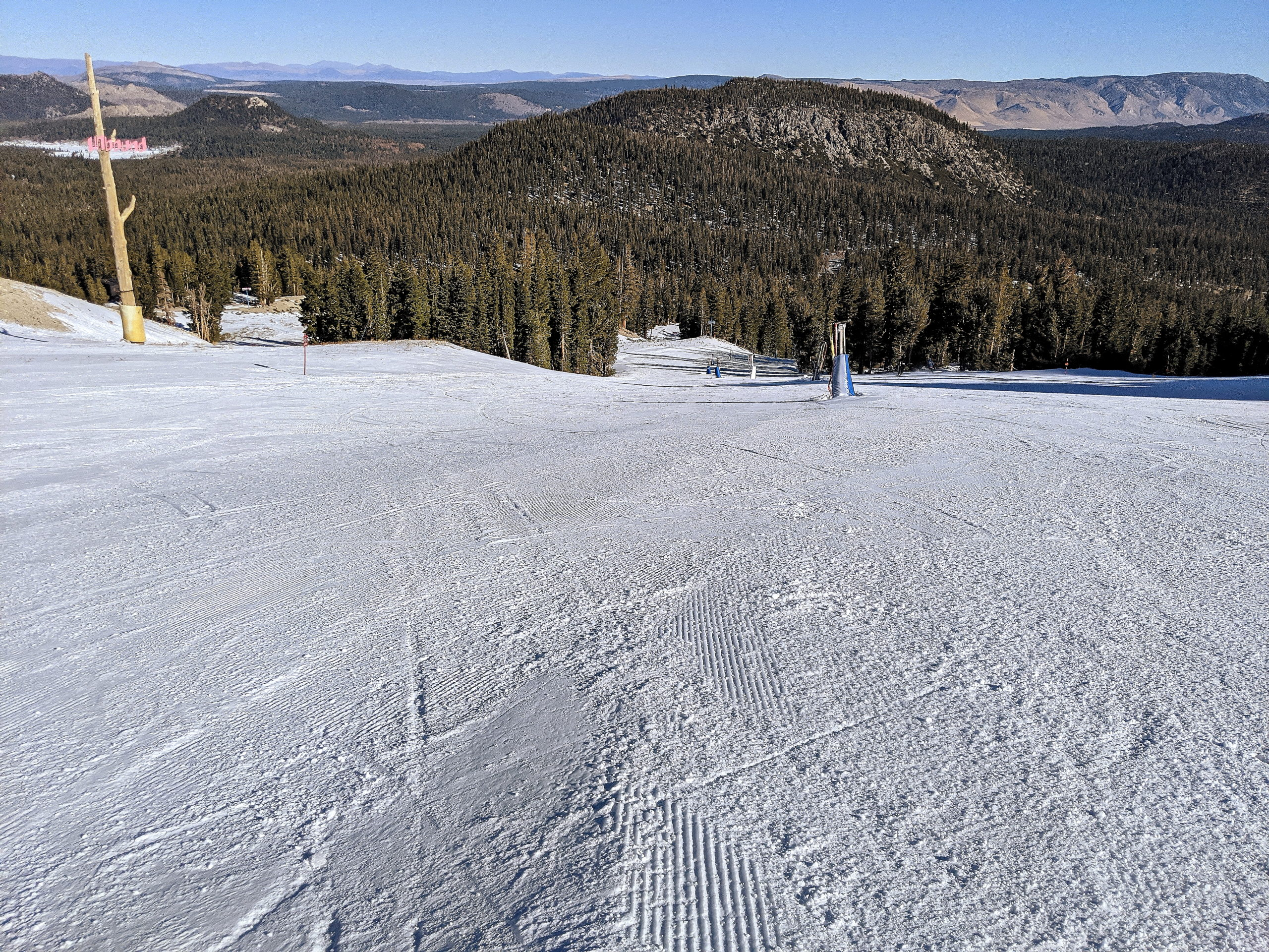 Upper Roller Coaster at Chair 4 - 11-30-2020
