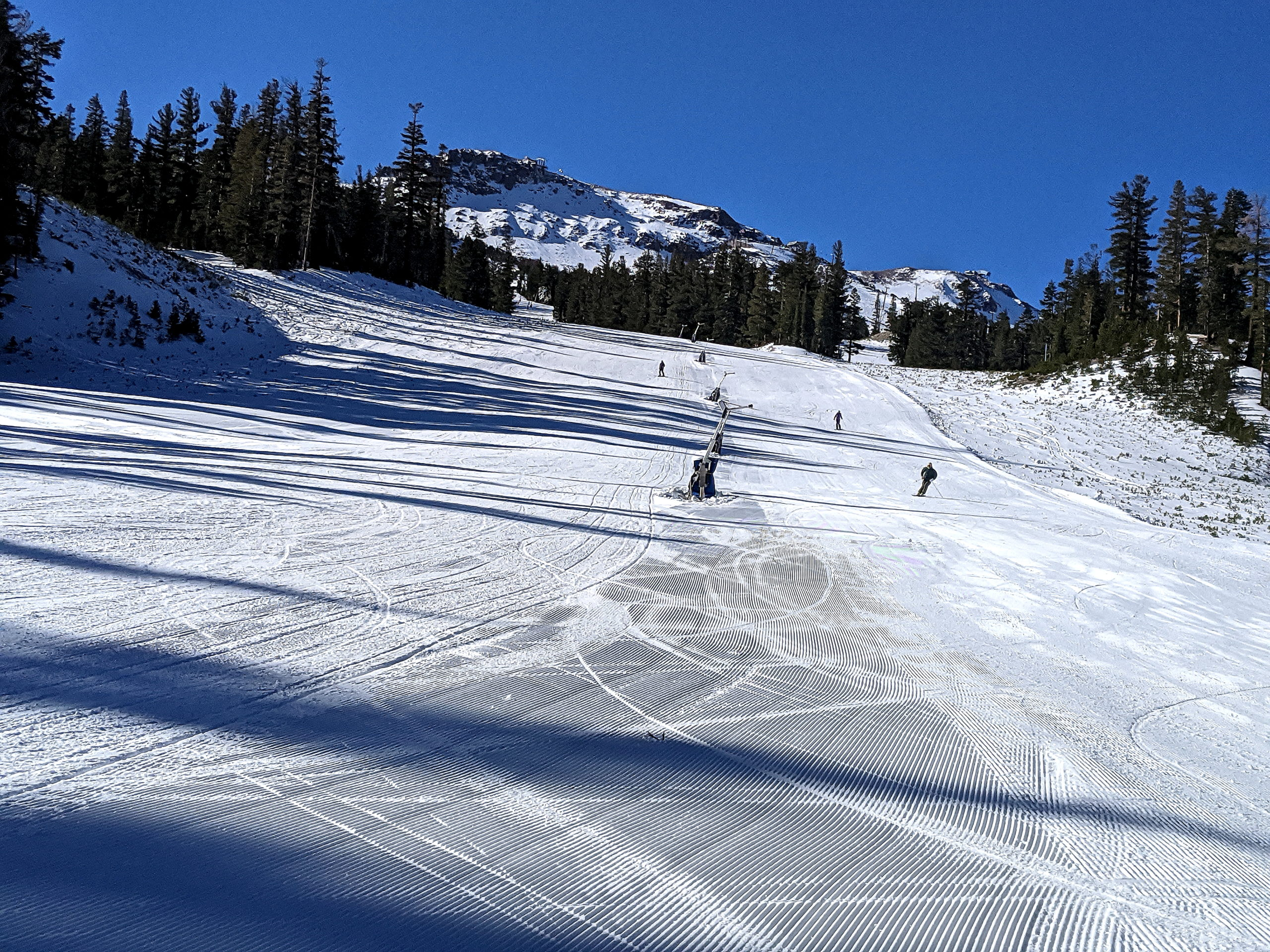 Lower Roller Coaster at Chair 4 - 11-30-2020