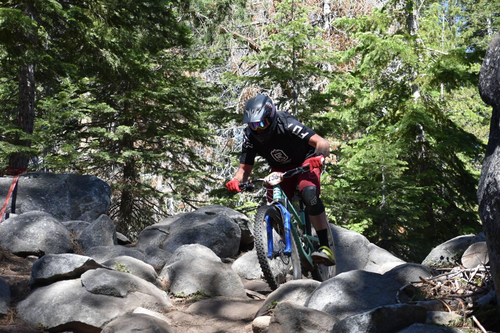 Footloose Sports Team Mountain Bike Rider