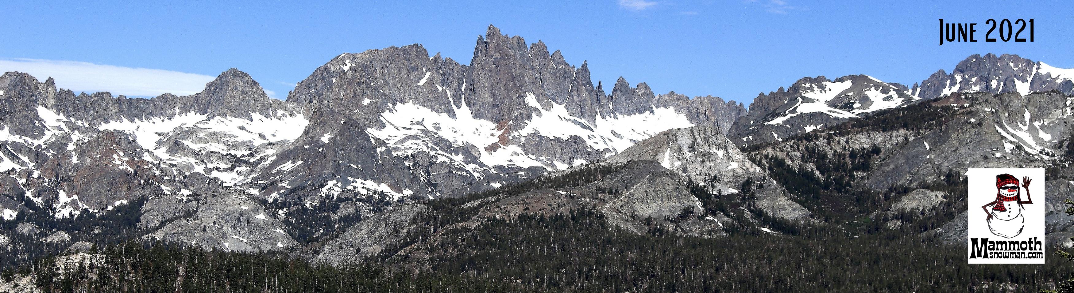 Eastern Sierra Minarets