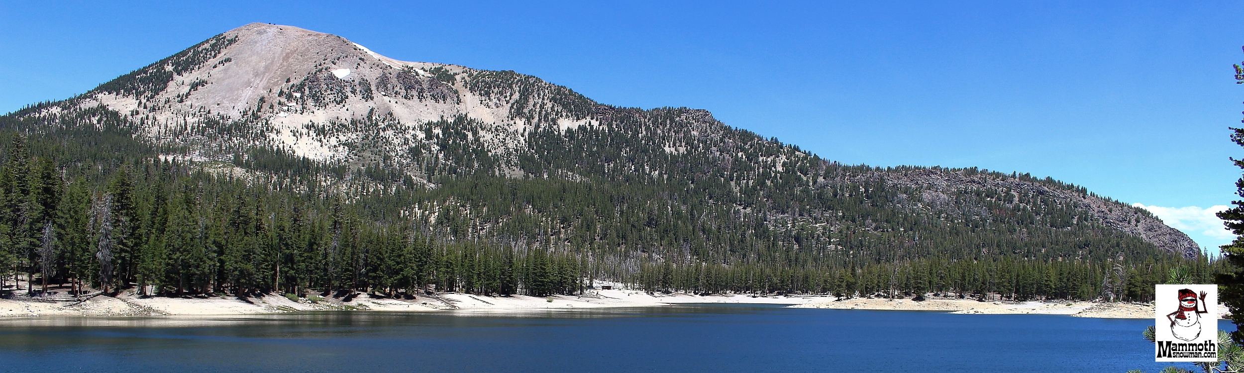 BackSide View of Mammoth Mountain