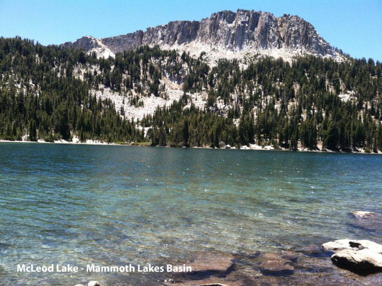 McLeod Lake - Mammoth Lakes Basin
