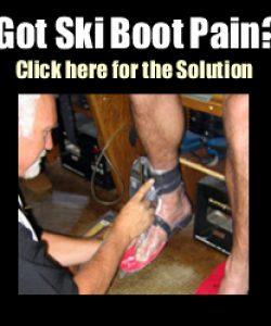 Footloose Sports - Got Ski Boot Pain?